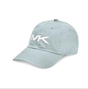Michael Kors Sea Blue Adjustable Baseball Hat